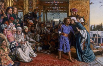 The Finding of the Savior in the Temple - William Holman Hunt