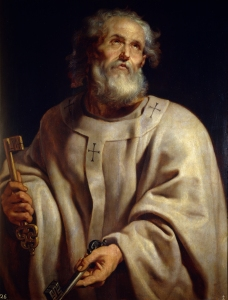 Saint Peter with Keys - Peter Paul Rubens