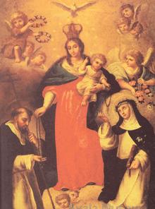 Nuestra Señora del Santisimo - Damián Domingo