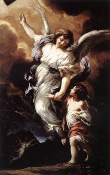 The Guardian Angel by Pietro da Cartona