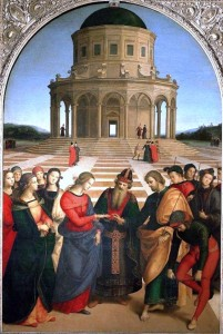 Marriage of the Virgin - Raphael