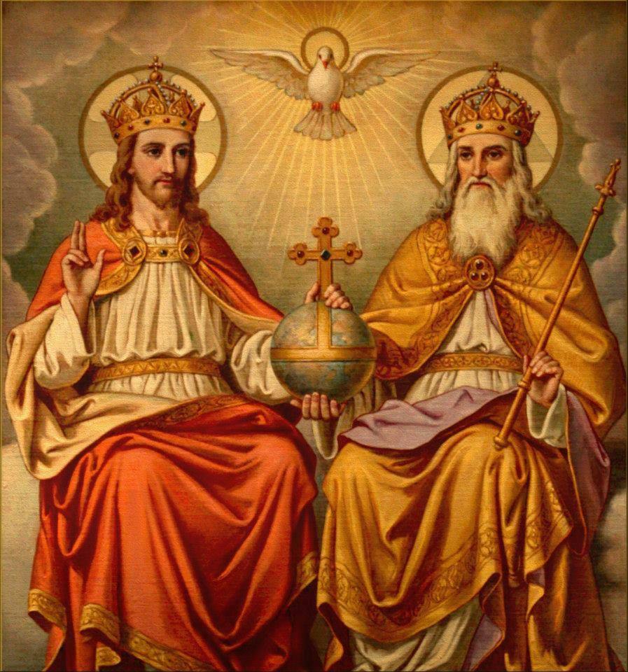 Fête de la Sainte Trinité – 16 juin 2019 - (Image et Musique)- Tableau Poétique des Fêtes Chrétienne – Vicomte Walsh 19  The-holy-trinity