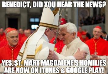 Francis.Benedict - SMM Homilies meme
