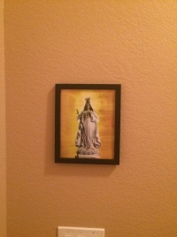 Our Lady of America in my home #1