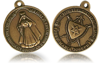 Our Lady of America medal