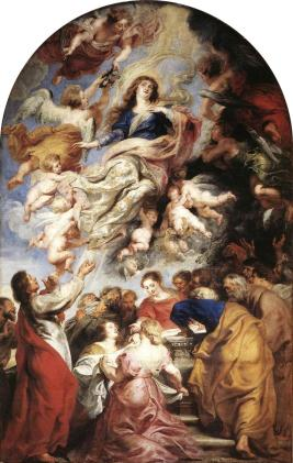 Assumption of the Virgin Mary, Rubens.