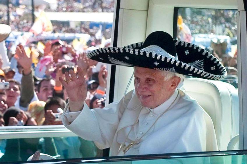 pope-benedict-xvi-in-a-black-sombrero