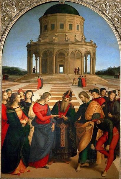 Marriage of the Virgin - Raphael