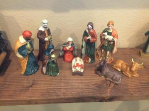 The Magi have arrived for Epiphany.