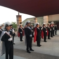 4th Degree standing at attention – swords drawn – April 2017