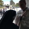 Fr. Bede blessing Sr. Ignatius