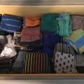 My sock drawer – August 2018