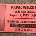 WYD 1993 – Mile High Statdium Tic